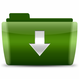 download down decrease downloads arrow green